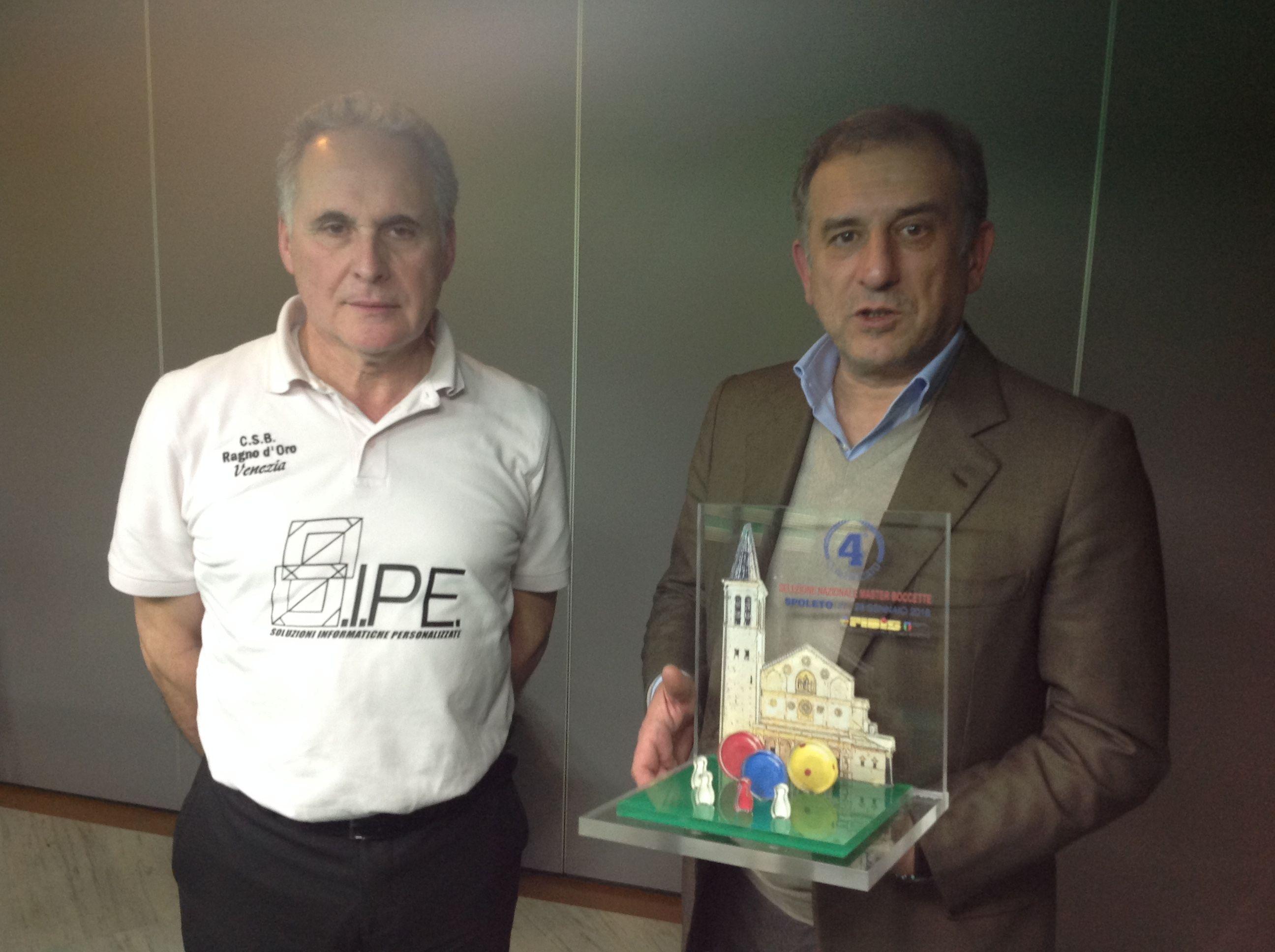 Francesco Poletto e Adelmo Alimenti