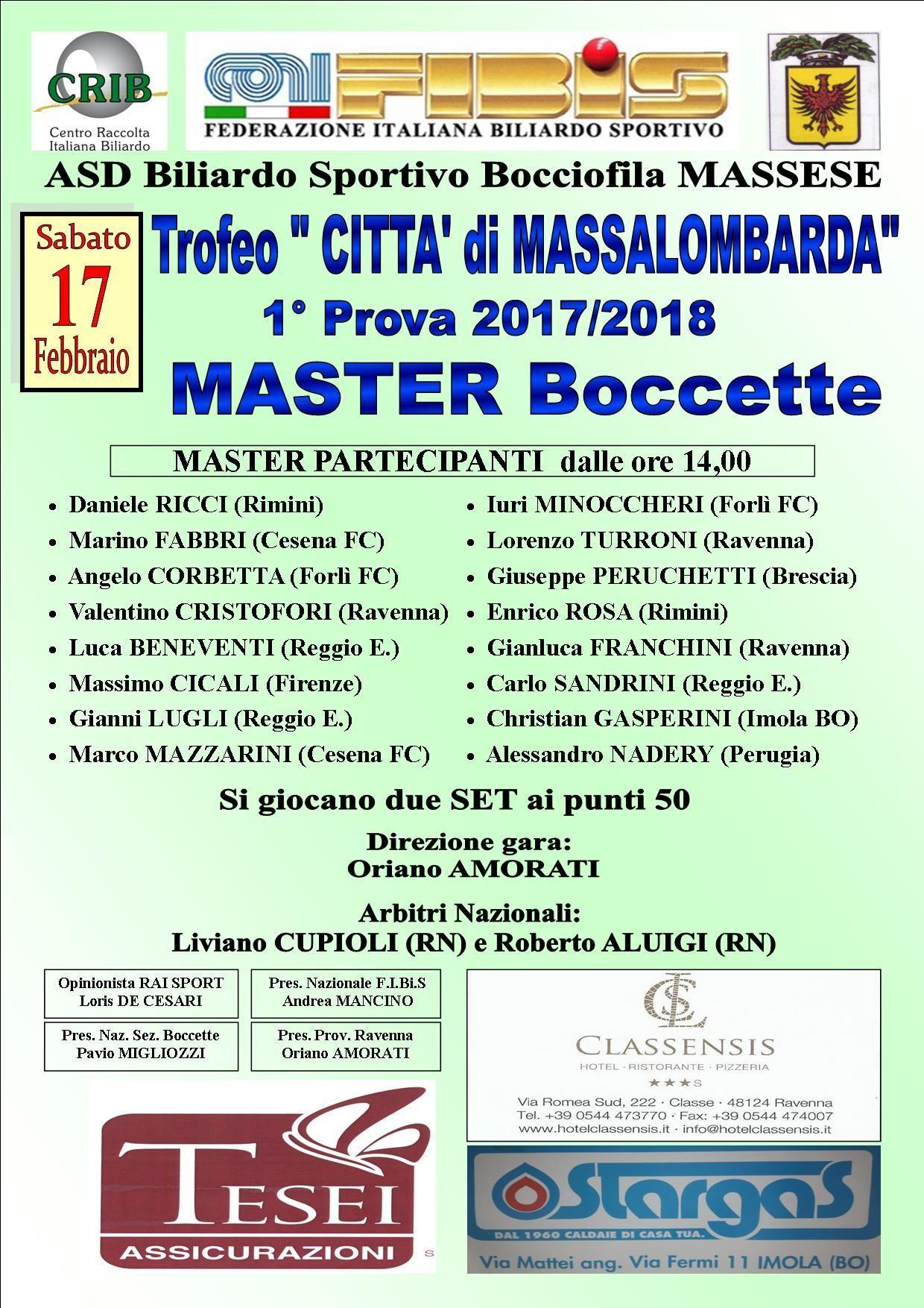 Elenco master