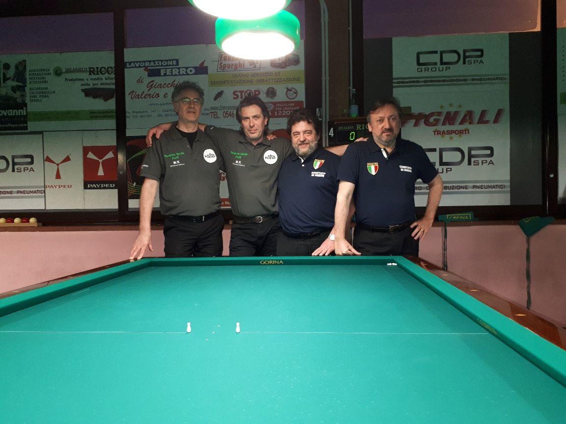 2^ semifinale: Corbetta Angelo, Protti Cristiano, Rosa Enrico, Merloni Marco