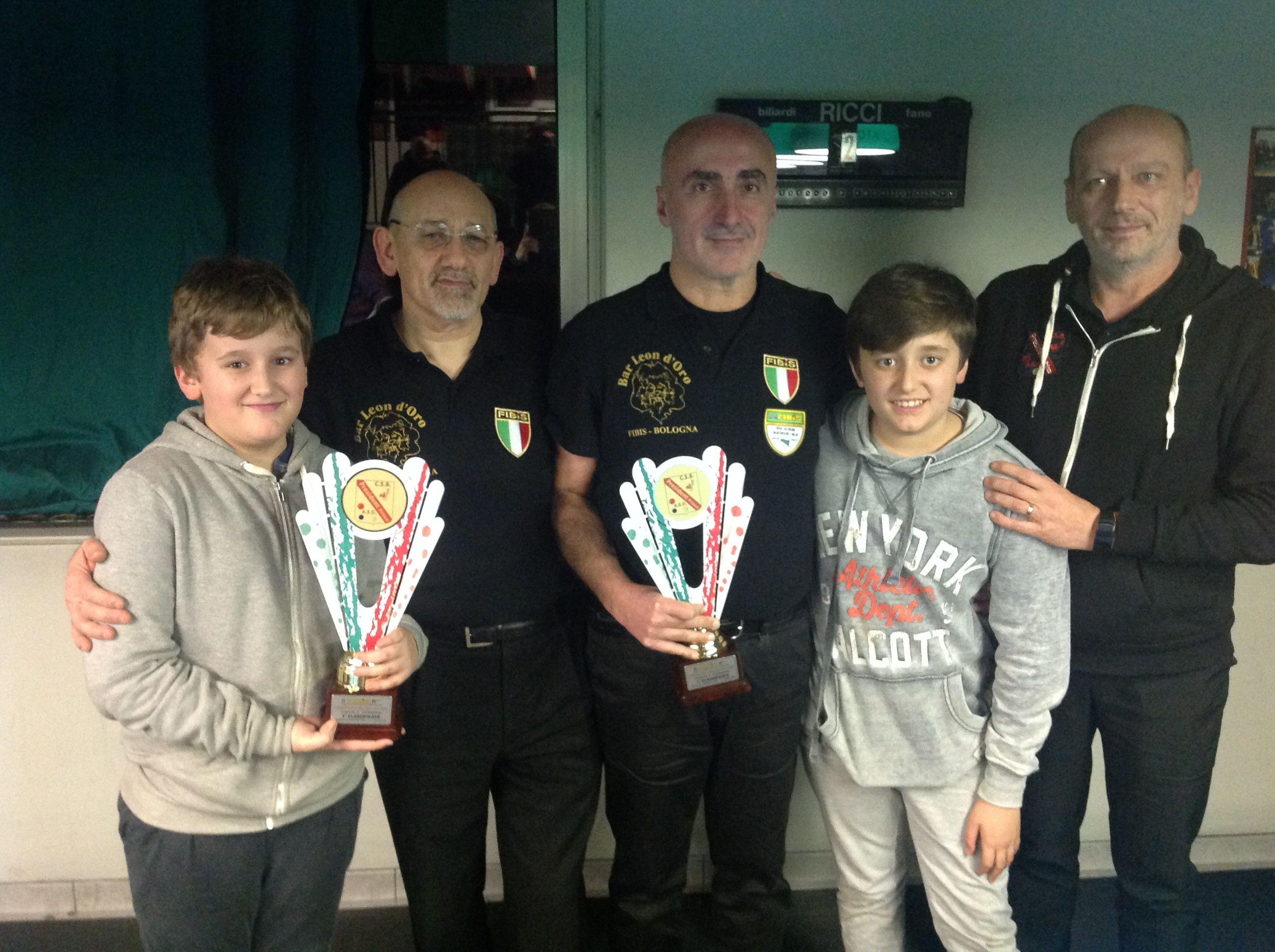 Marani, Fornasari premiati da Raffaele Romualdi