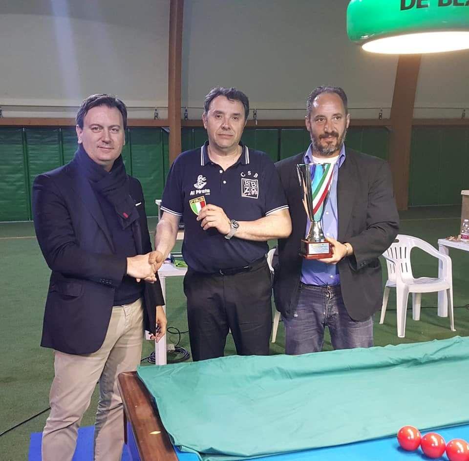 Stefano Gibertoni Pres. reg. Fibis Lombardia, Valentino Beffa, Marco Costantini (Delegato Fibis Lombardia)
