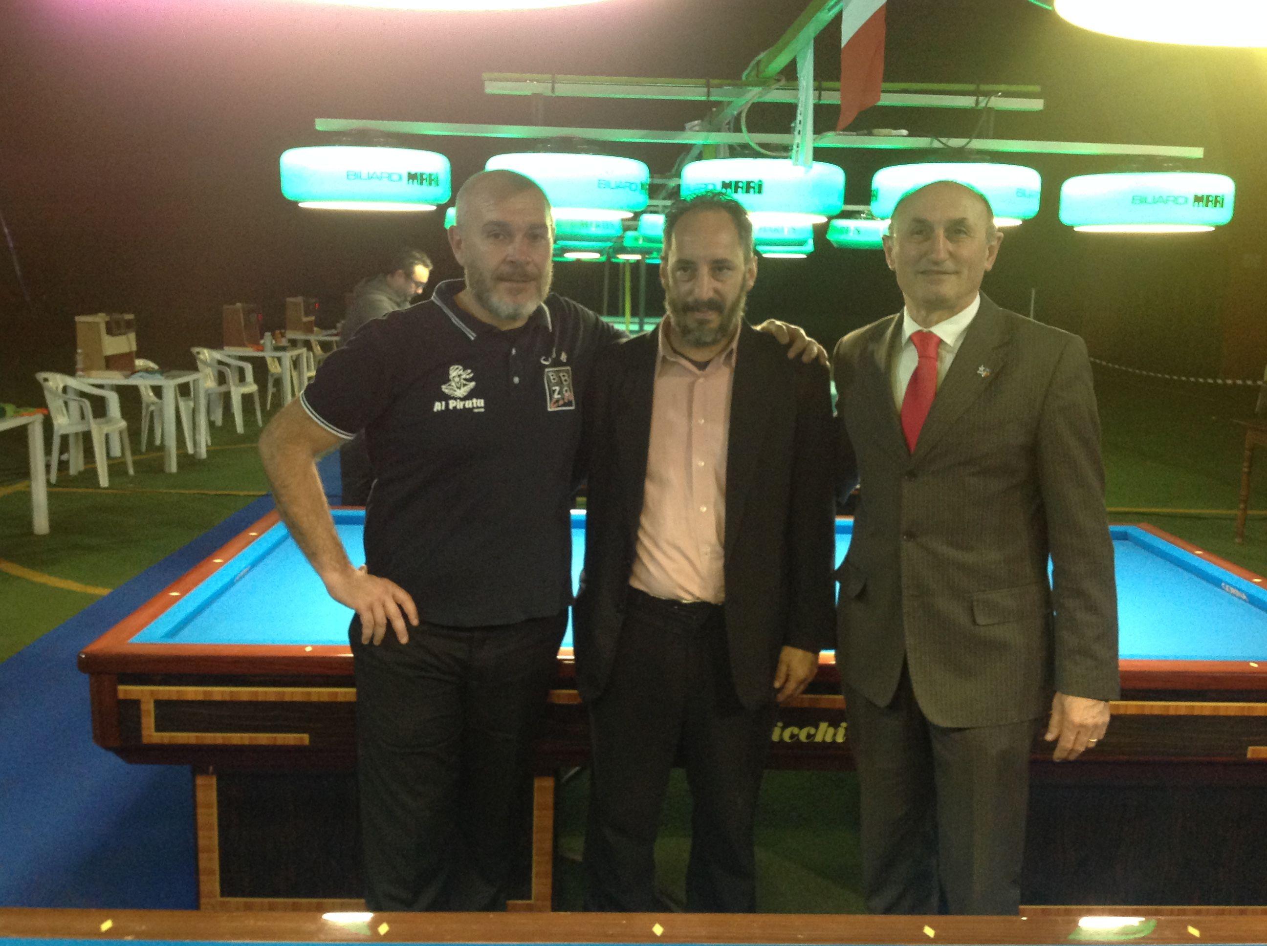 Roberto Verlicchi, Marco Costantini, Loris De Cesari