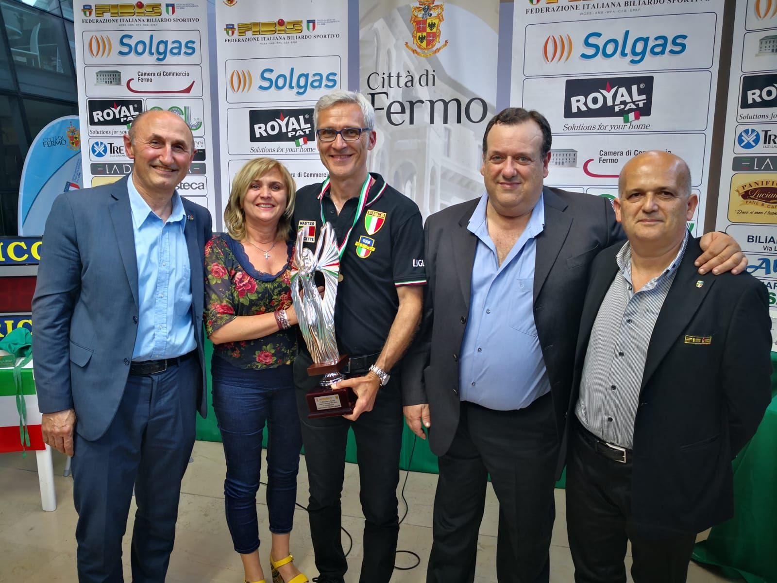 Loris De Cesari, Moglie e Gianni Lugli, Pavio Migliozzi e Francesco Andrenacci