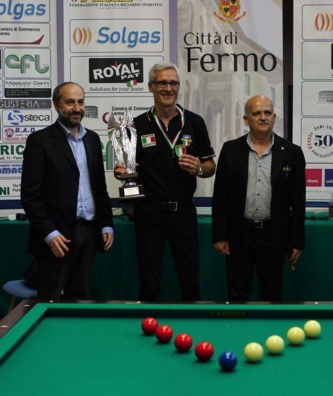 Avv. Paolo Calcinaro sindaco di Fermo, Gianni Lugli e Francesco Andrenacci
