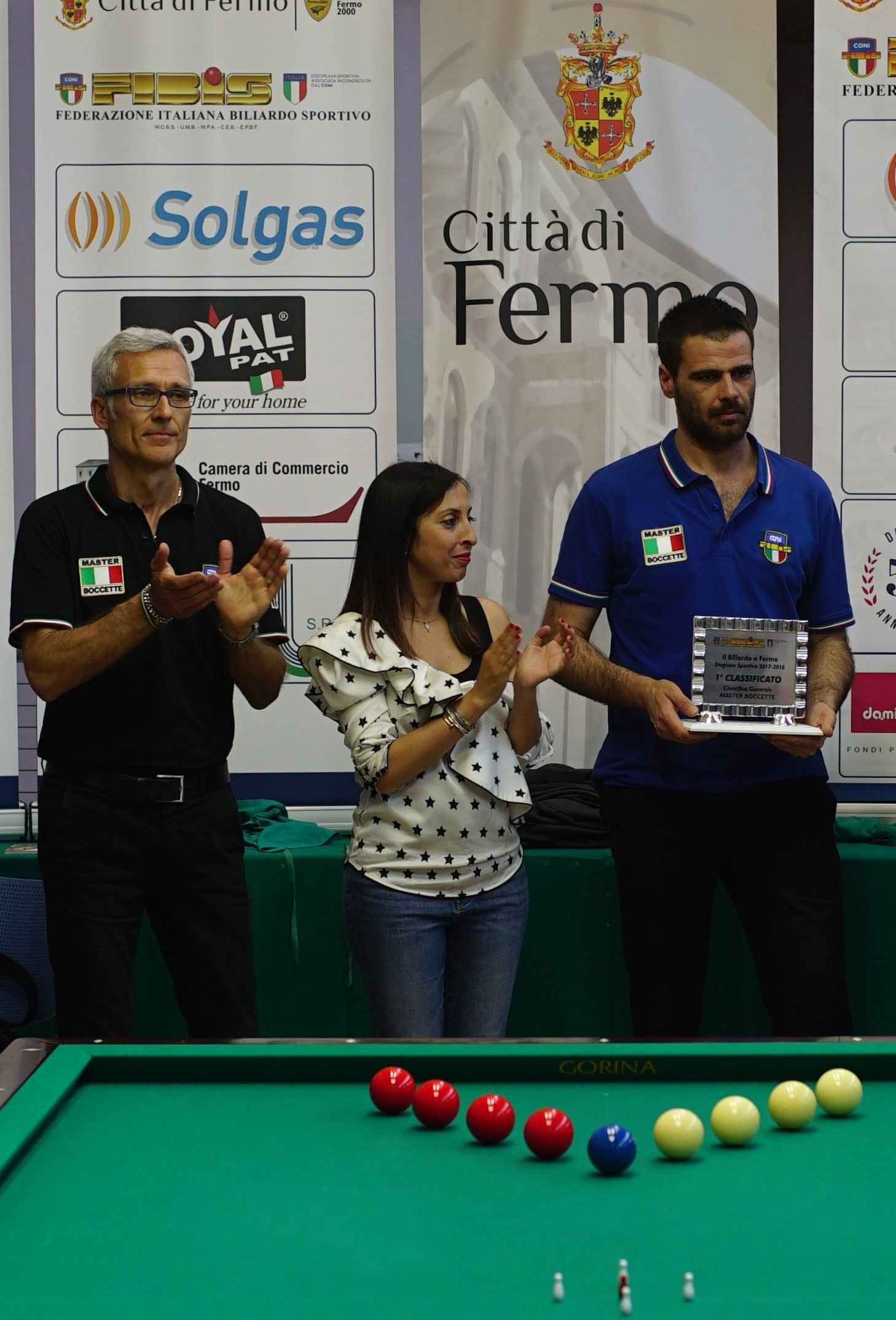 Gianni Lugli, Miss e Daniele Ricci  - Fermo 2018