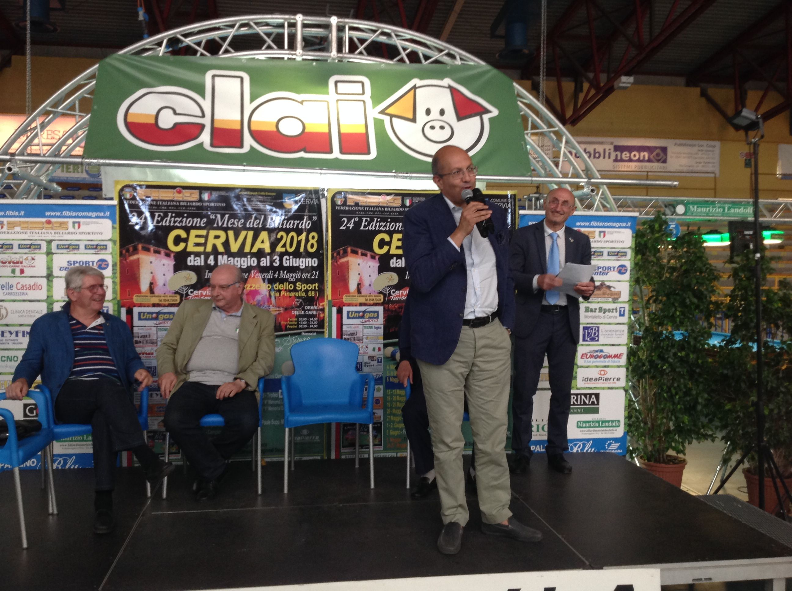 Il presidente federale Andrea Mancino