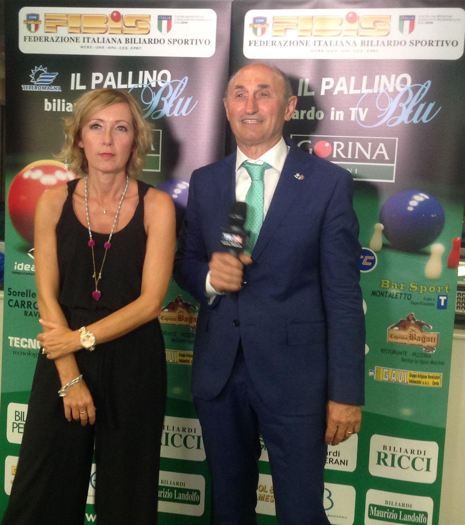 Stefania Ceccarelli e Loris De Cesari