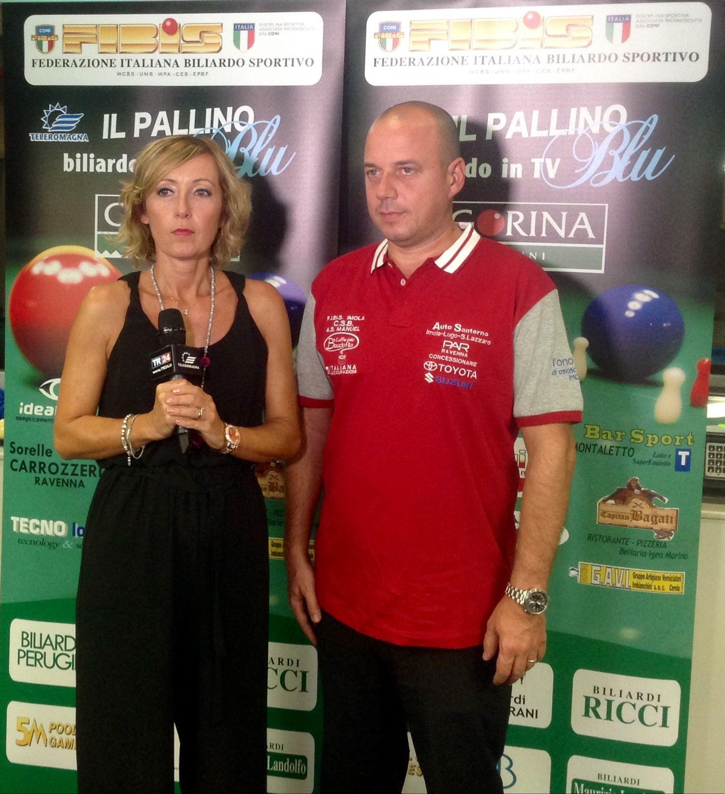 Stefania Ceccarelli e Massimliano Berti