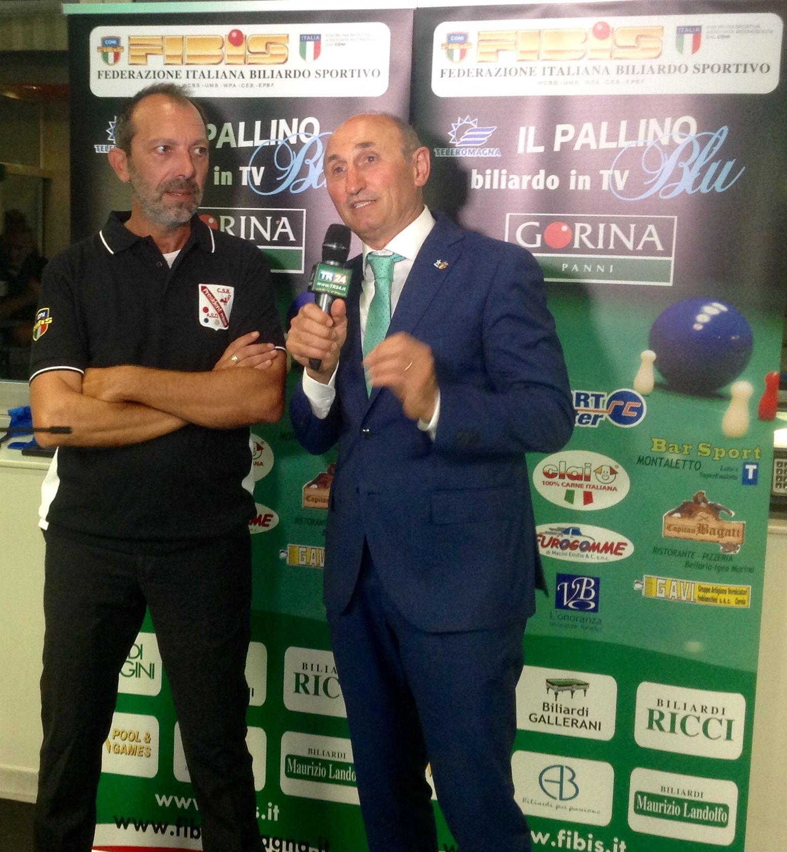 Salvatore Tricomi e Loris De Cesari