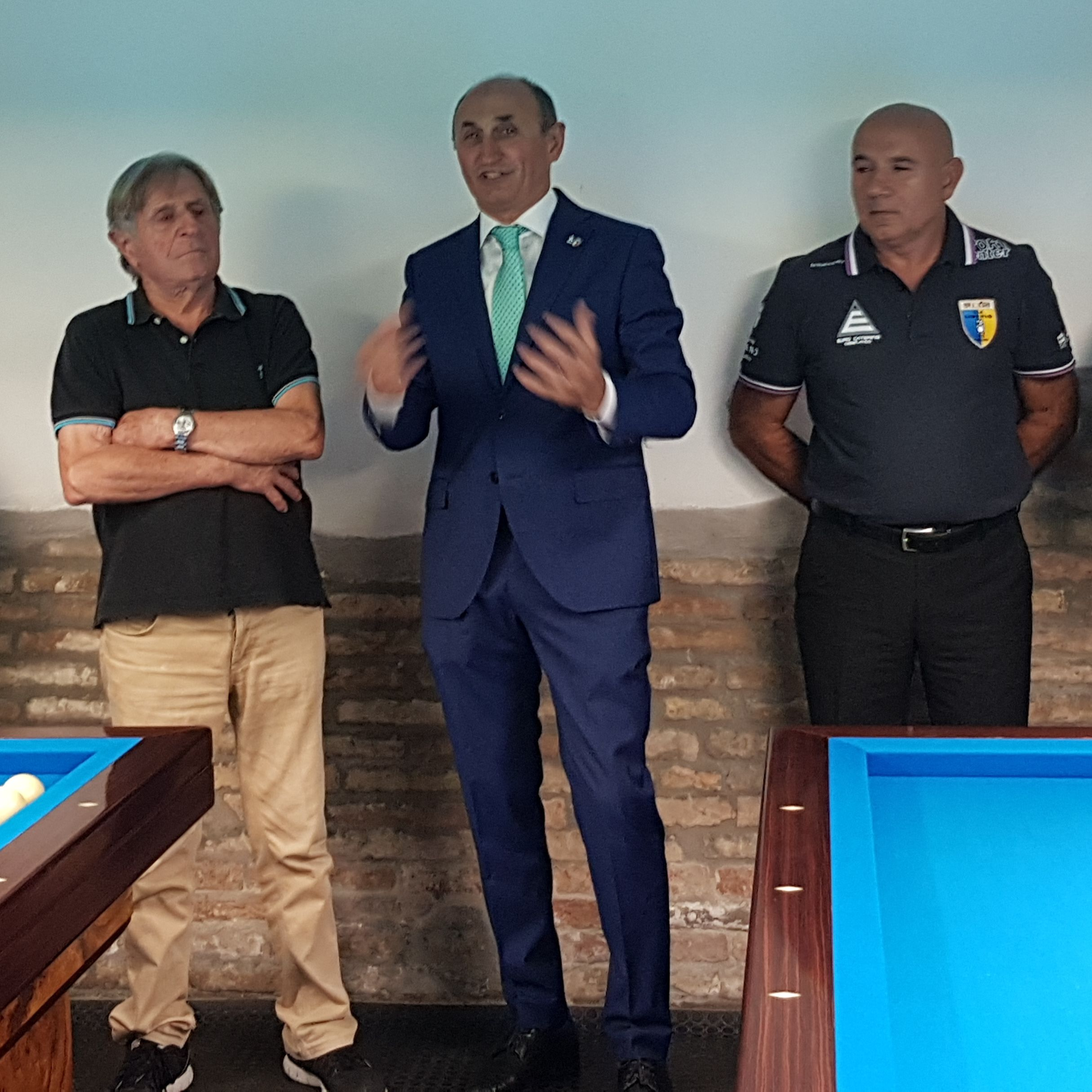 LIBERIO De Lorenzi, Loris De Cesari  e Valerio Bersani