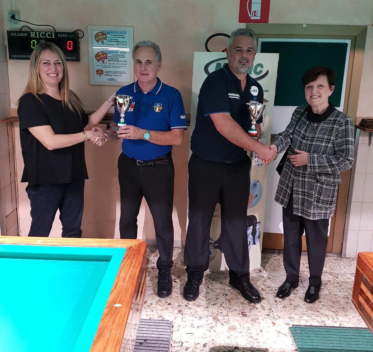 Serena Falchetti, Francesco Poletto, Stefano Nanni e Alessandra Benini