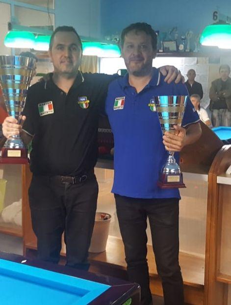 Cristian Gasperini e Alessandro Nadery