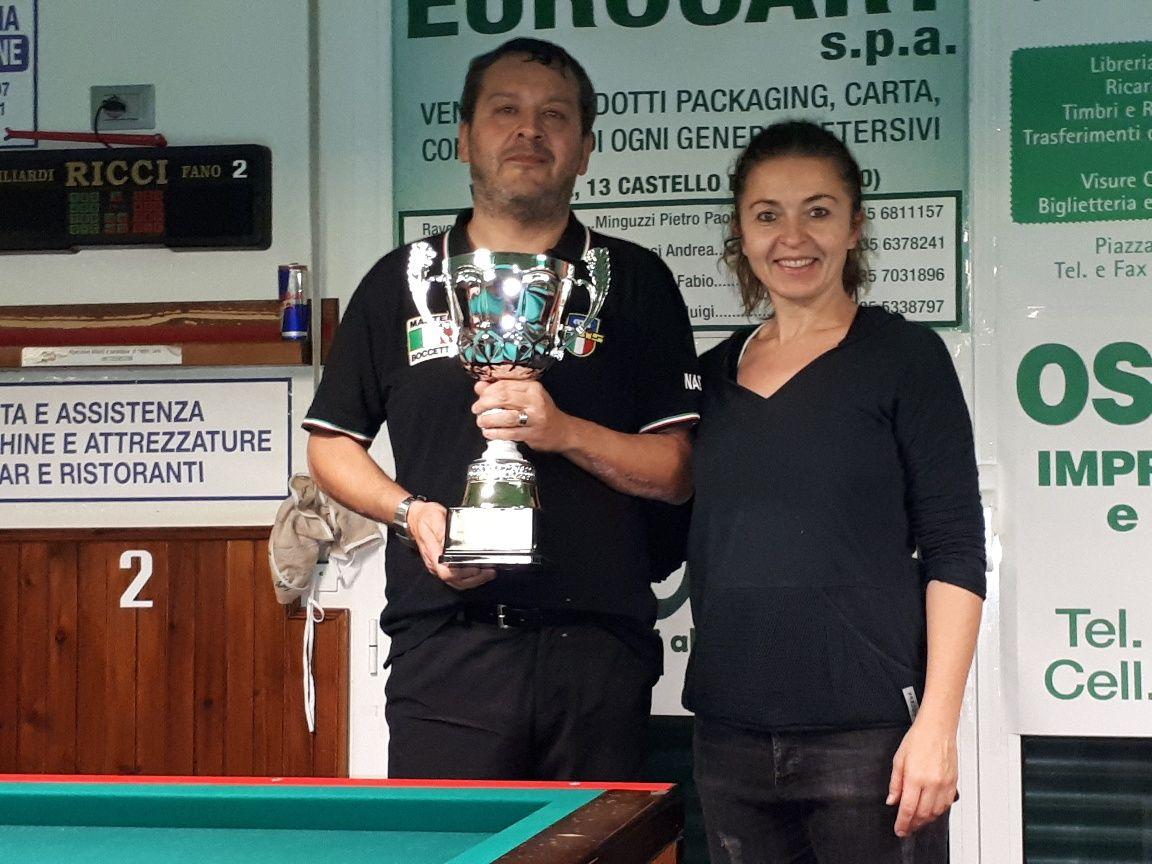 Nadery Alessandro premiato da Barbara (BBZO)