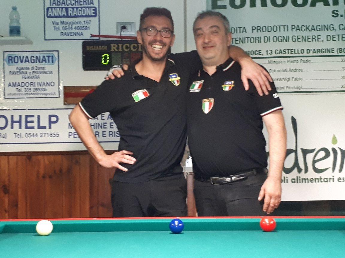 1a Semifinale: Mazzarini Marco vs. Cicali Massimo
