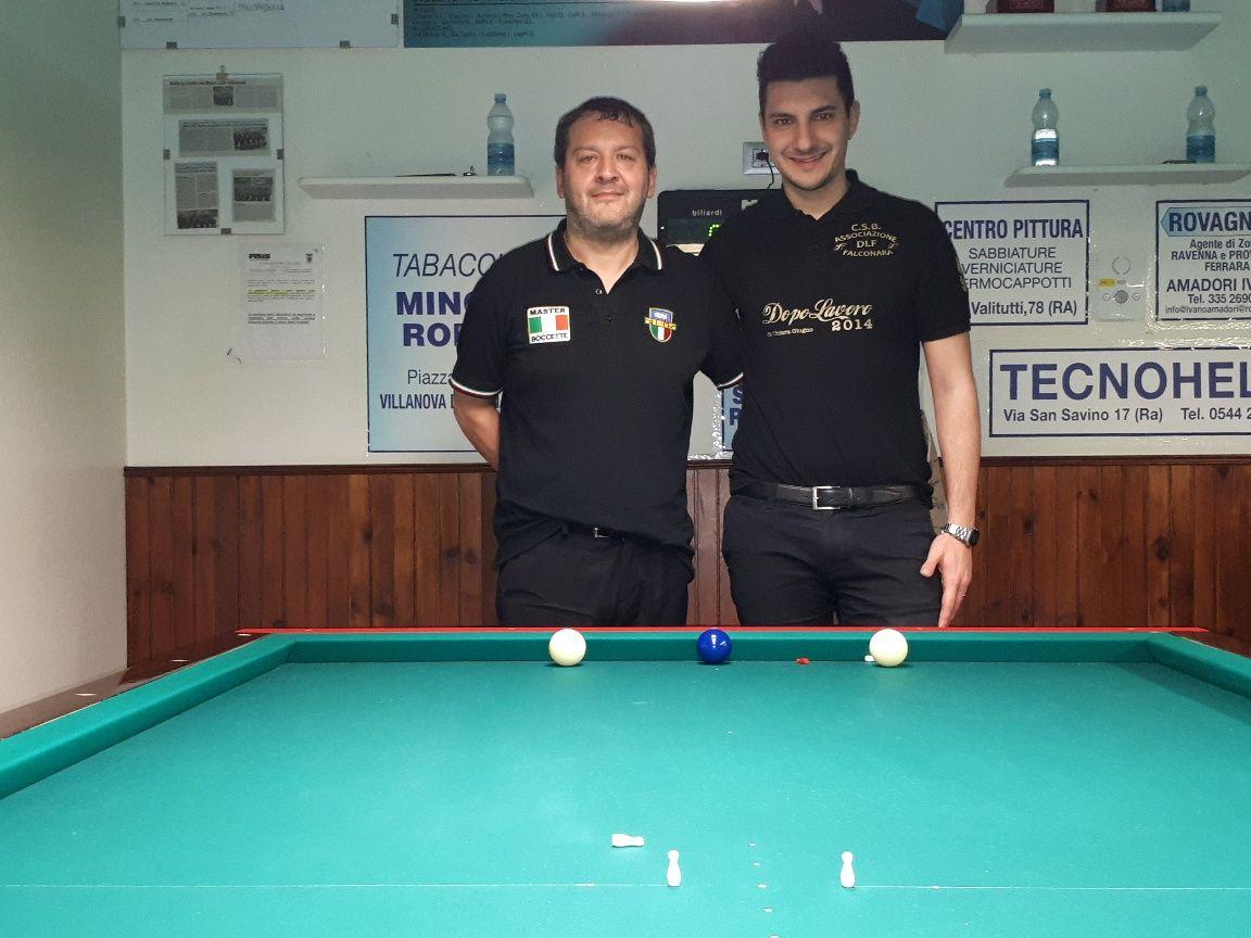 2a Semifinale: Nadery Alessandro vs. Principi Loris