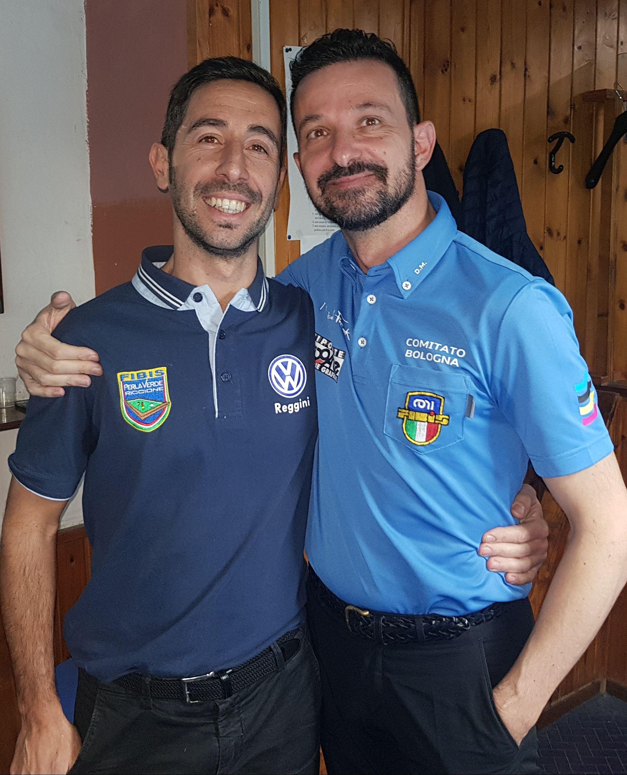 Cristian Spadoni e Denis Morini
