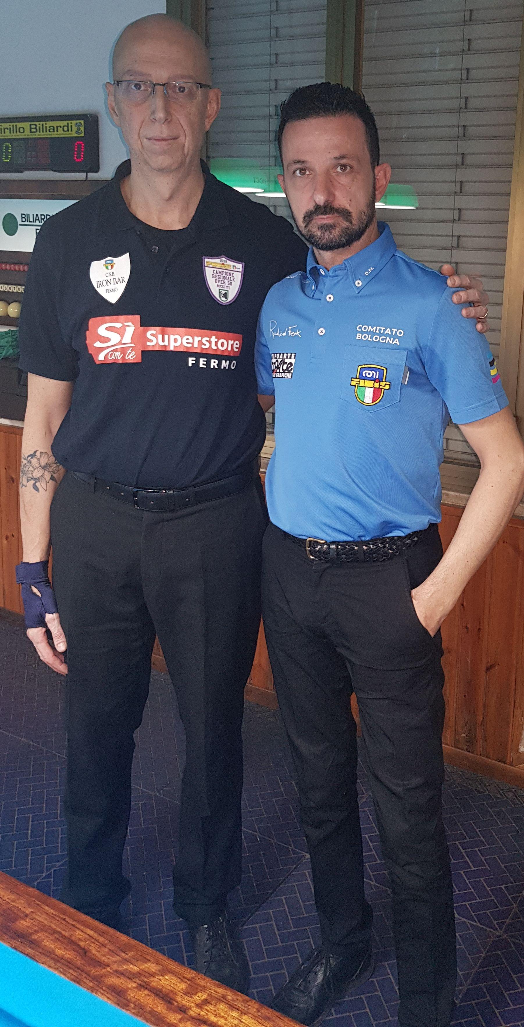 Demetrio Sandrini e Denis Morini