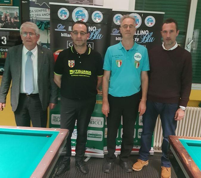 Augusto Landi (Pres. reg) Iuri Minoccheri, Angelo Corbetta, Maurizio Lelli (Ass. Sport Imola)