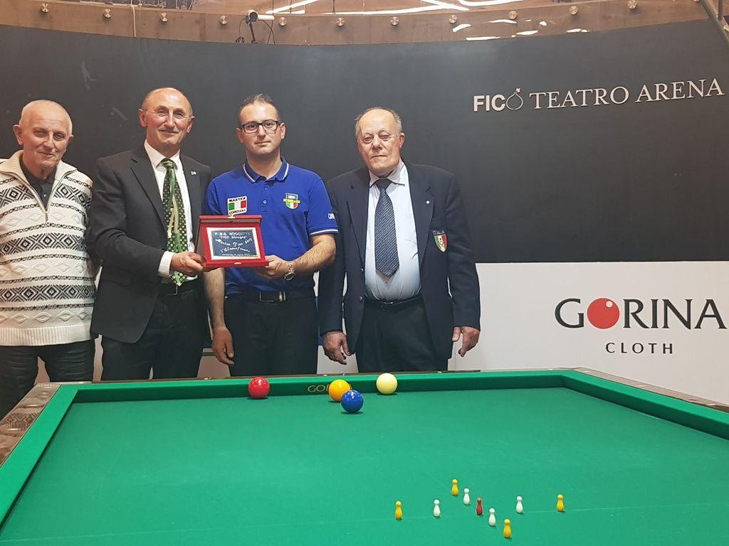 Agostino Tomasini, Loris De Cesari, Stefano Camprincoli e Carlo Ugolini