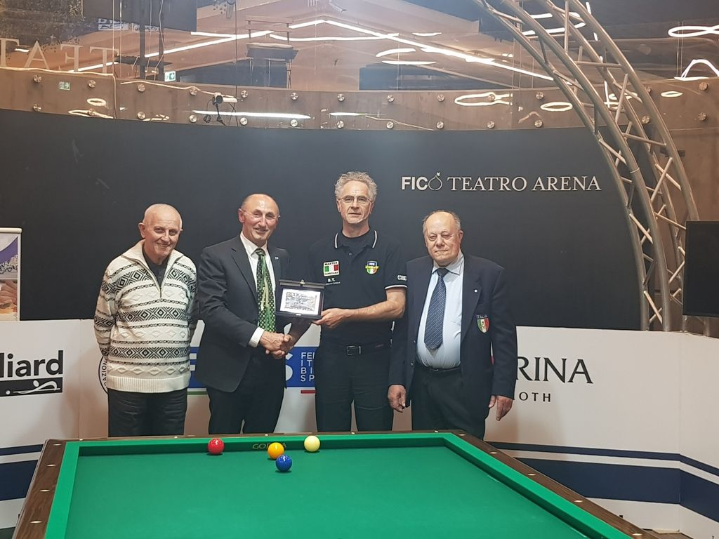 Agostino Tomasini, Loris De Cesari, Angelo Corbetta e Carlo Ugolini