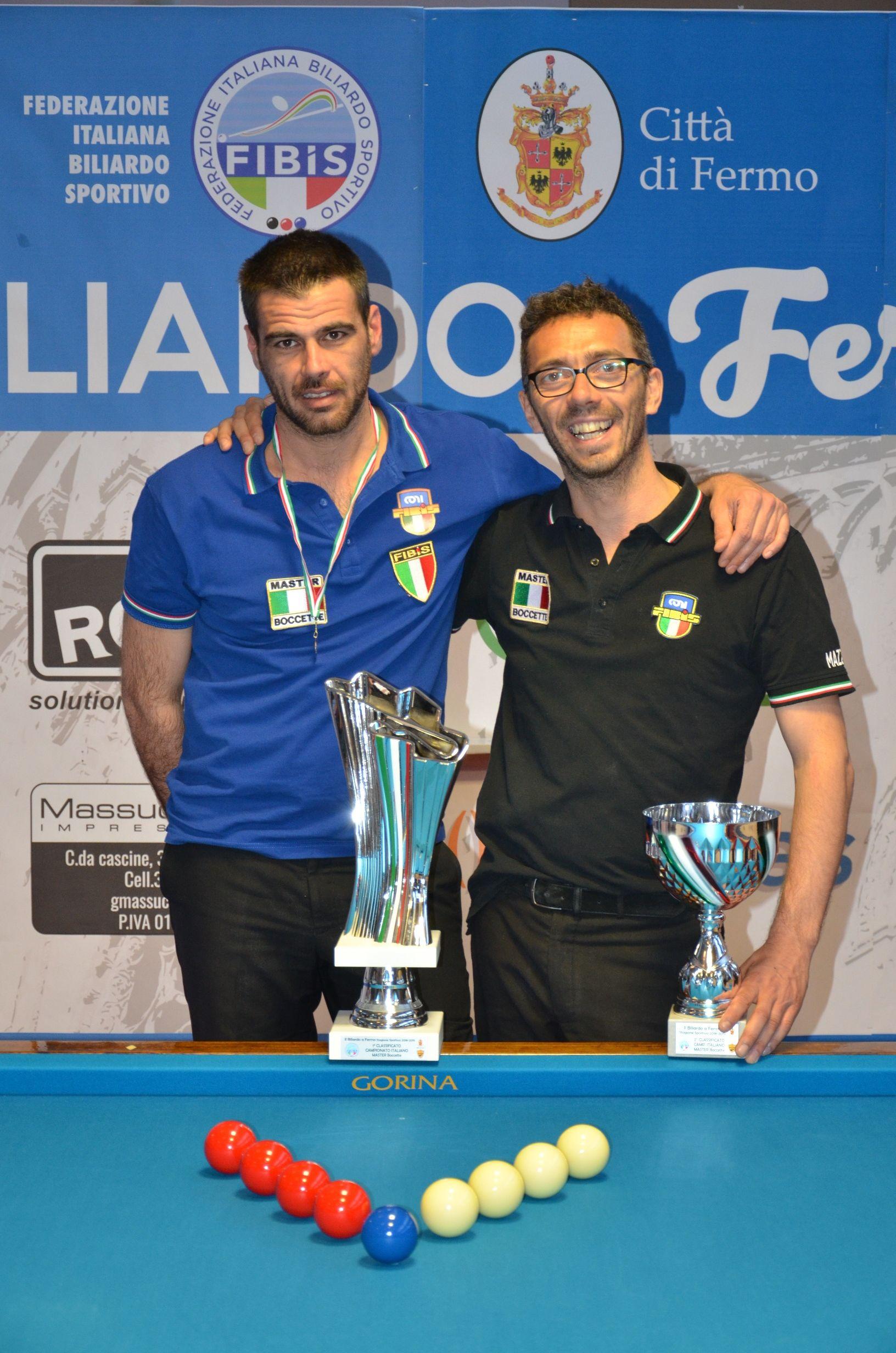 Daniele Ricci e Marco Mazzarini Fermo 2019
