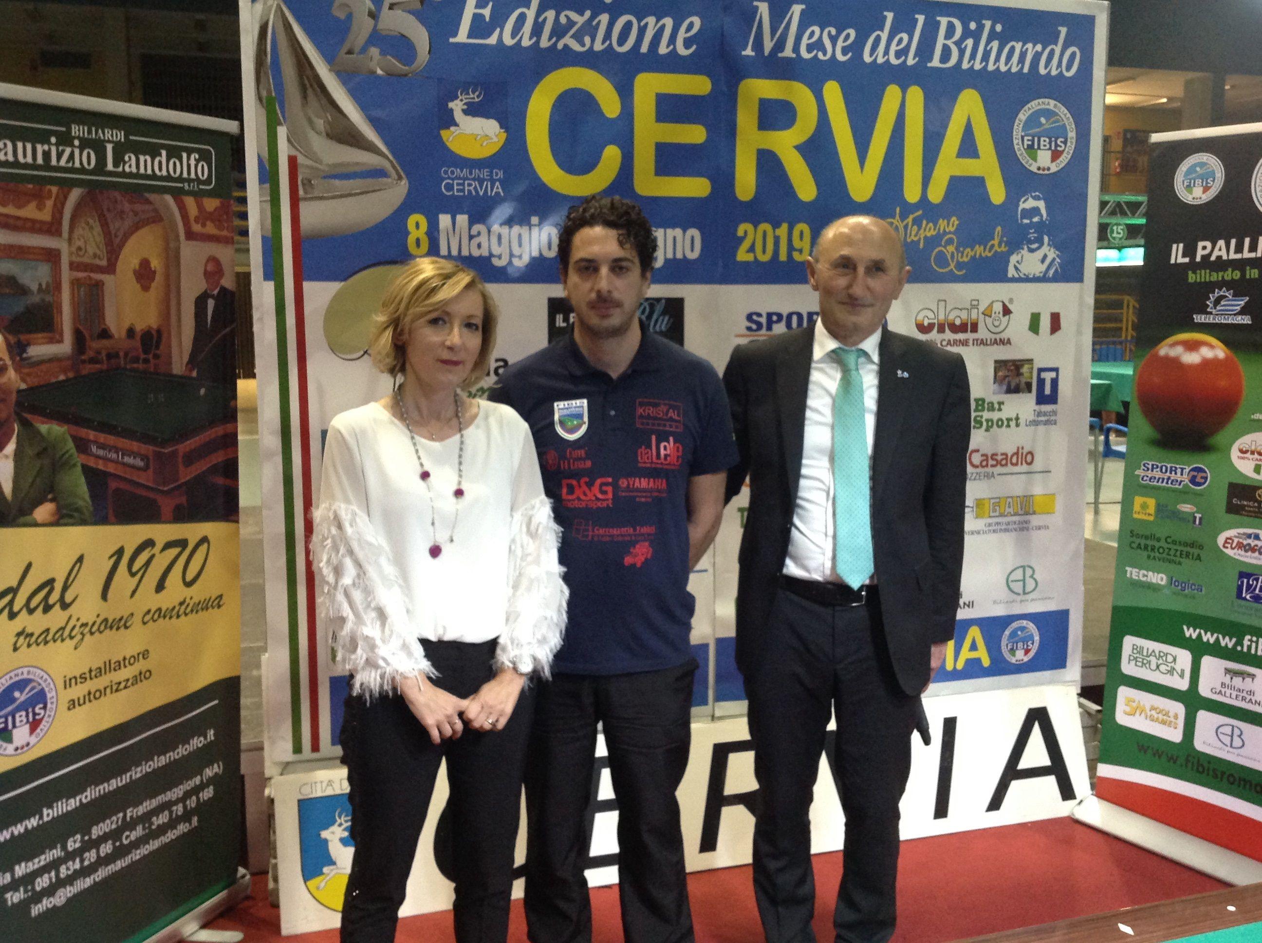 Stefania Ceccarelli, Alberto Andruccioli e Loris De Cesari