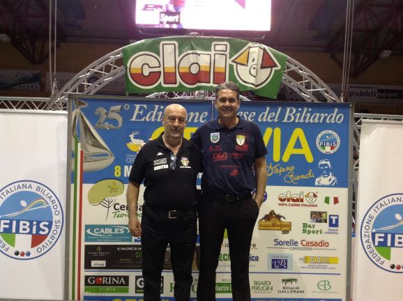 Quieti Stefano (premiato da Aluigi Roberto vice pres. Comitato di Rimini)