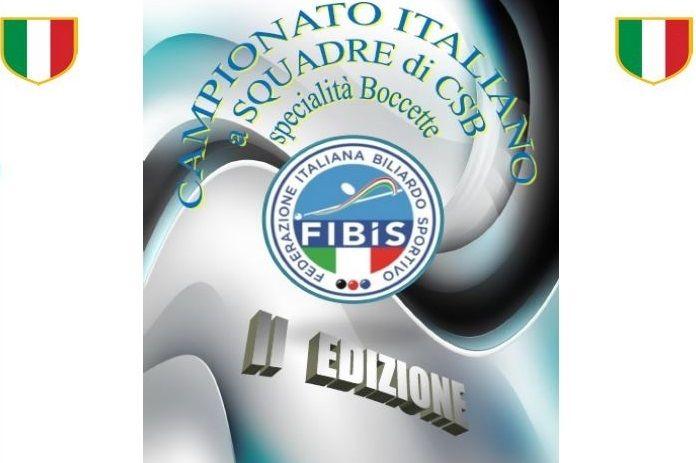 2° Campionato Italiano Csb