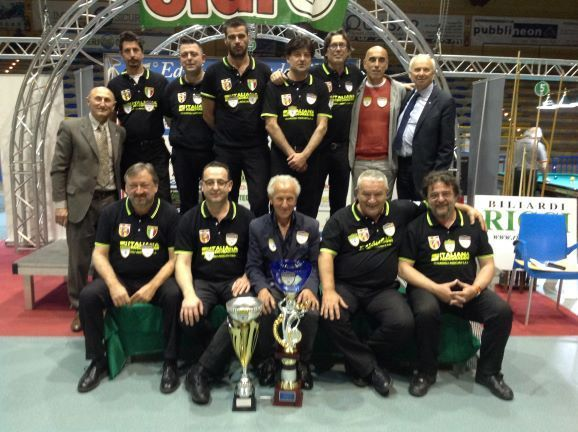Bussecchio Campione regionale serie A1
