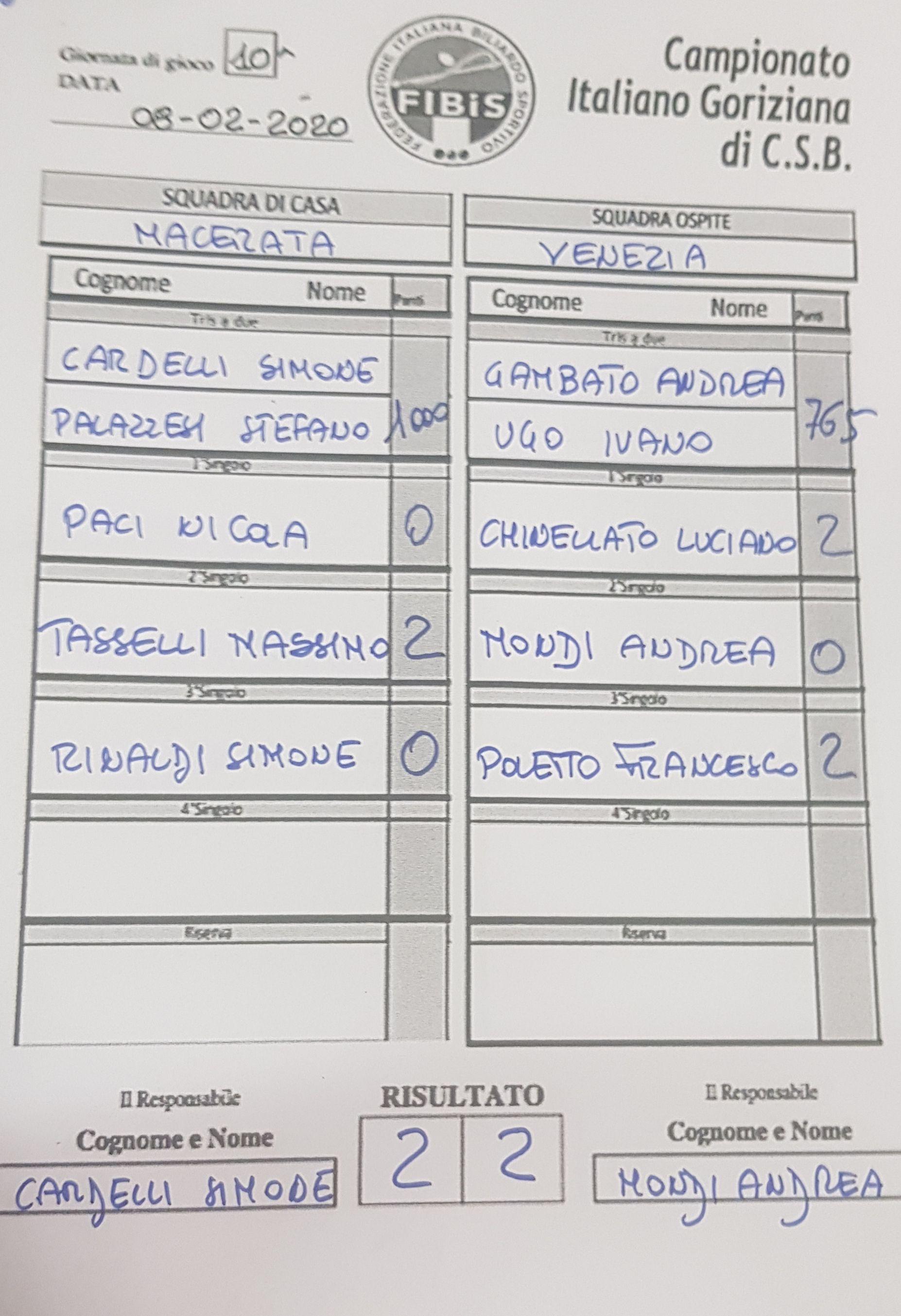 Macerata vs Venezia