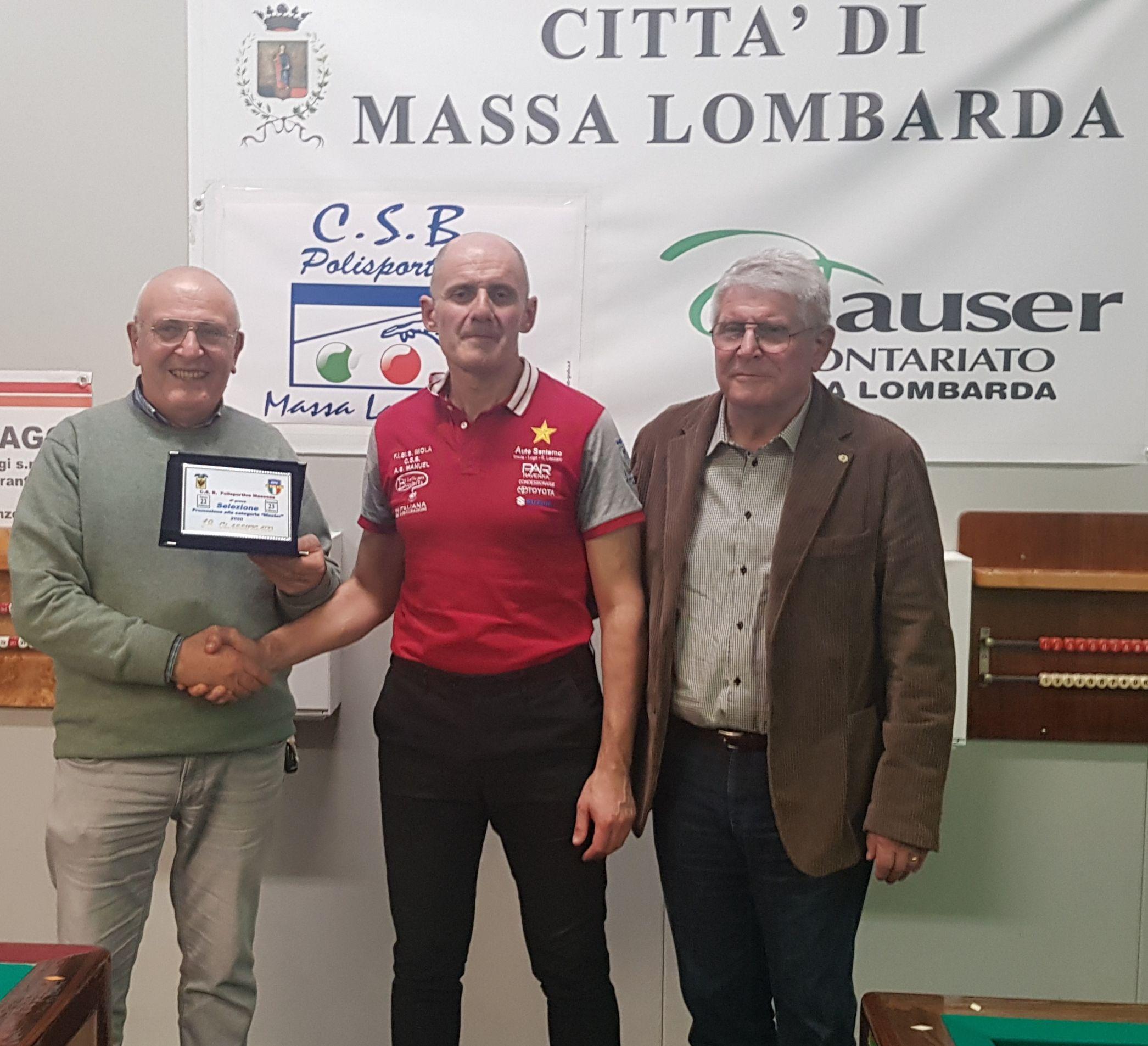 Giorgio Tavalazzi,  Carlo Sandrini e Augusto Landi