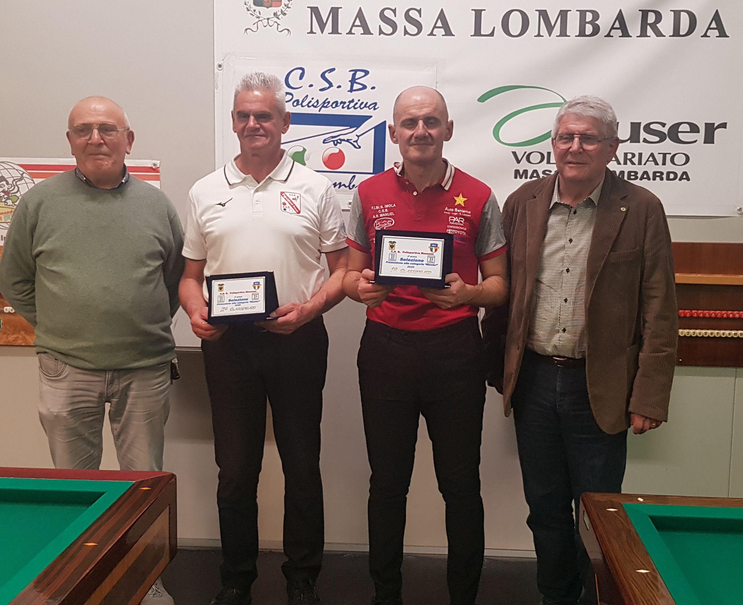Giorgio Tavalazzi ,  Massimo Vanin, Carlo Sandrini e Augusto Landi