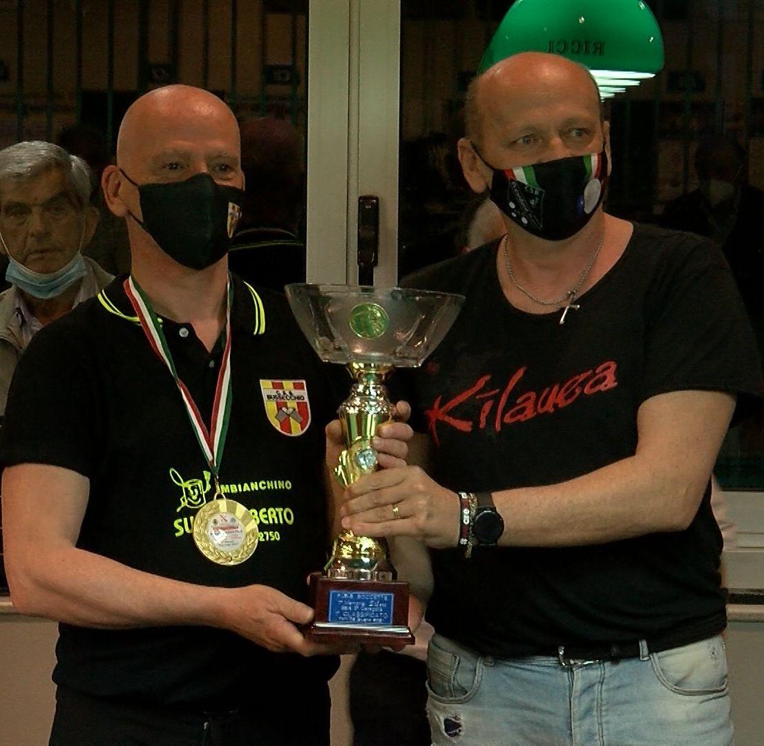 Andrea SCARPELLINI premiato da Raffaele Romualdi