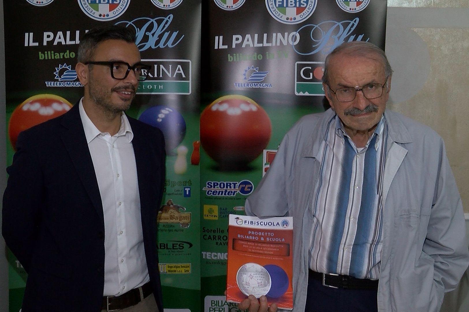 Vice Sindaco Daniele Mezzacapo e Professor Secondo Giunchedi