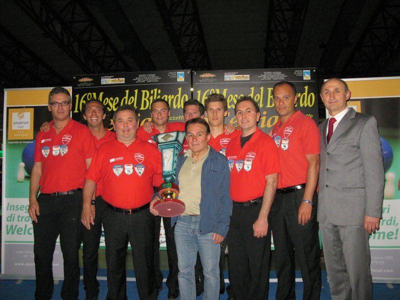 Il Manuel la Tozzona- squadra vincitrice del regionale di serie A1