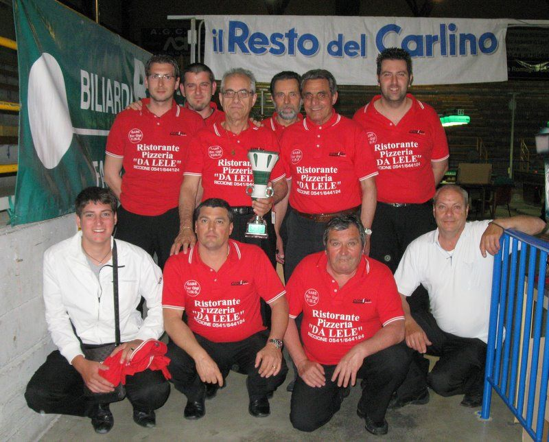 Bar Gigi   (RN) squadra vincitrice di girone