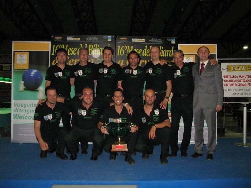 Perla Verde  (RN)  vince la coppa Fibis serie A