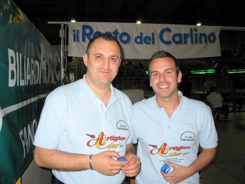 Sansovini dsandro Montanari Manuel  - miglior coppia serie B girone C