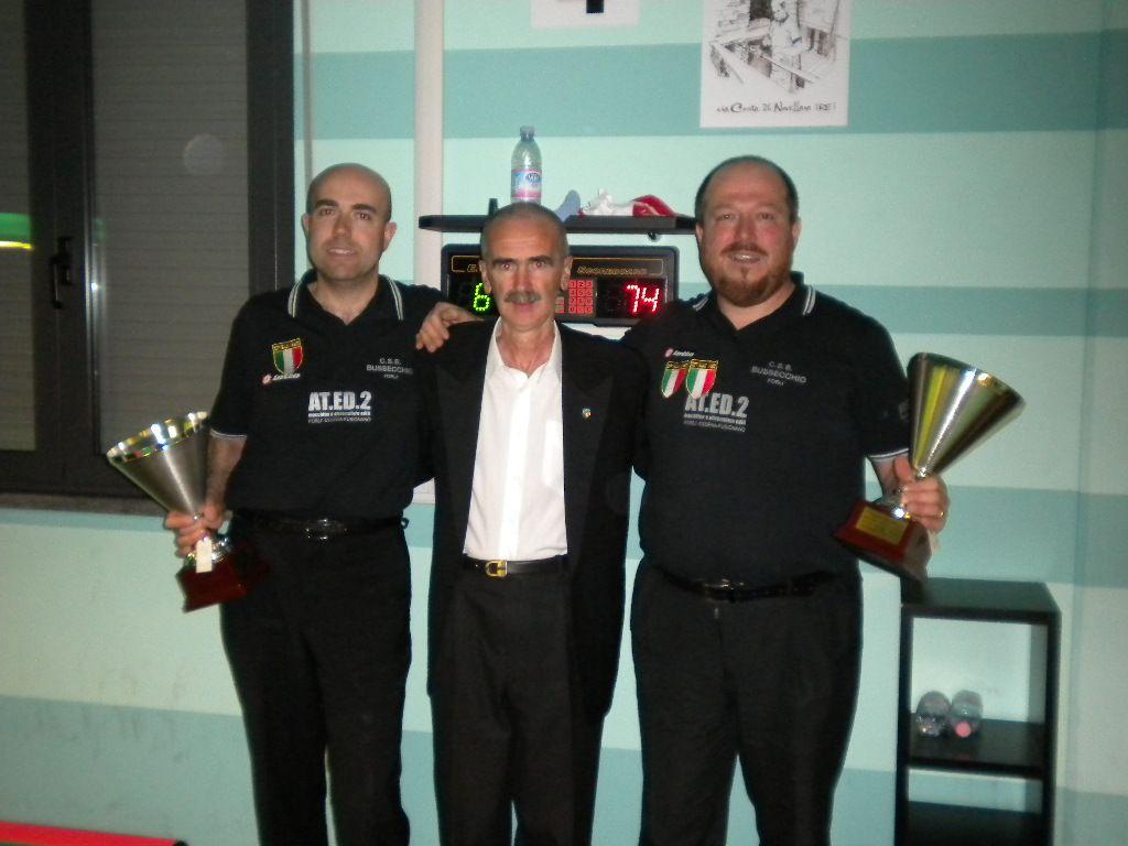 Fabrizi, L'arbitro e Gardini