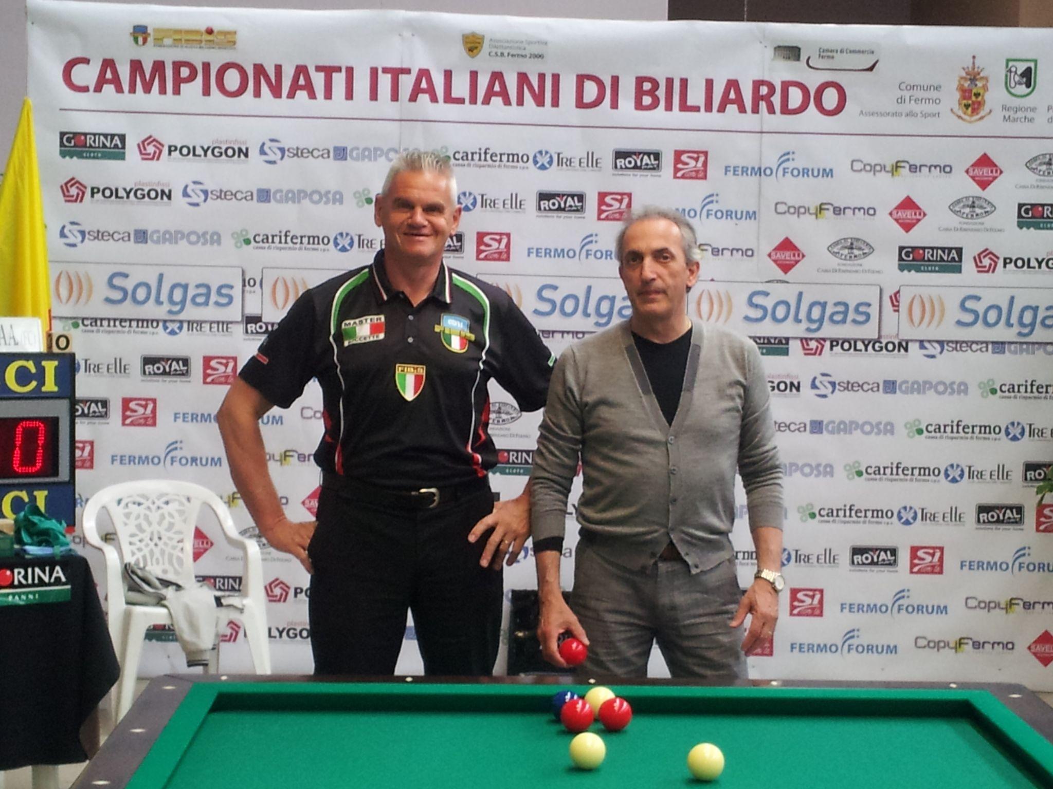Massimo Vanin e Luciano Chinellato