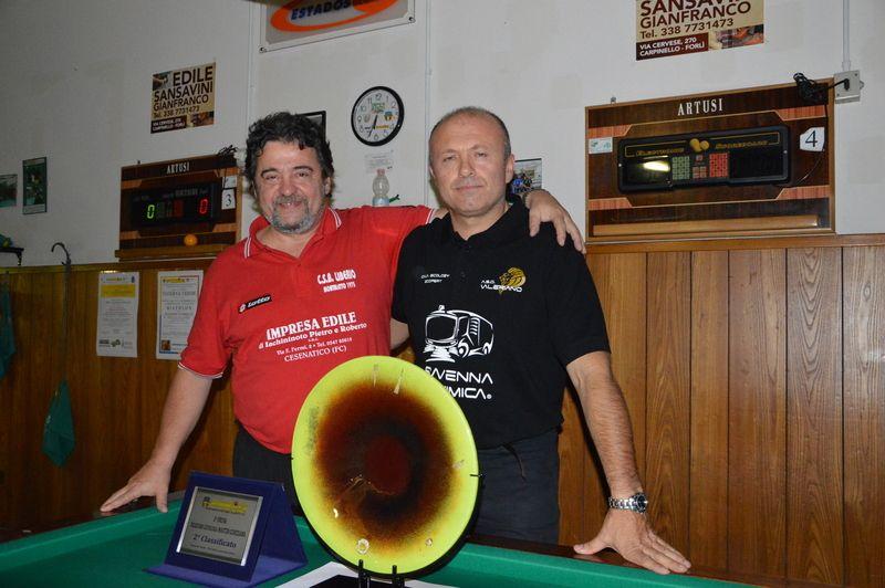 Merloni Marco e Ravaioli Roberto i FINALISTI