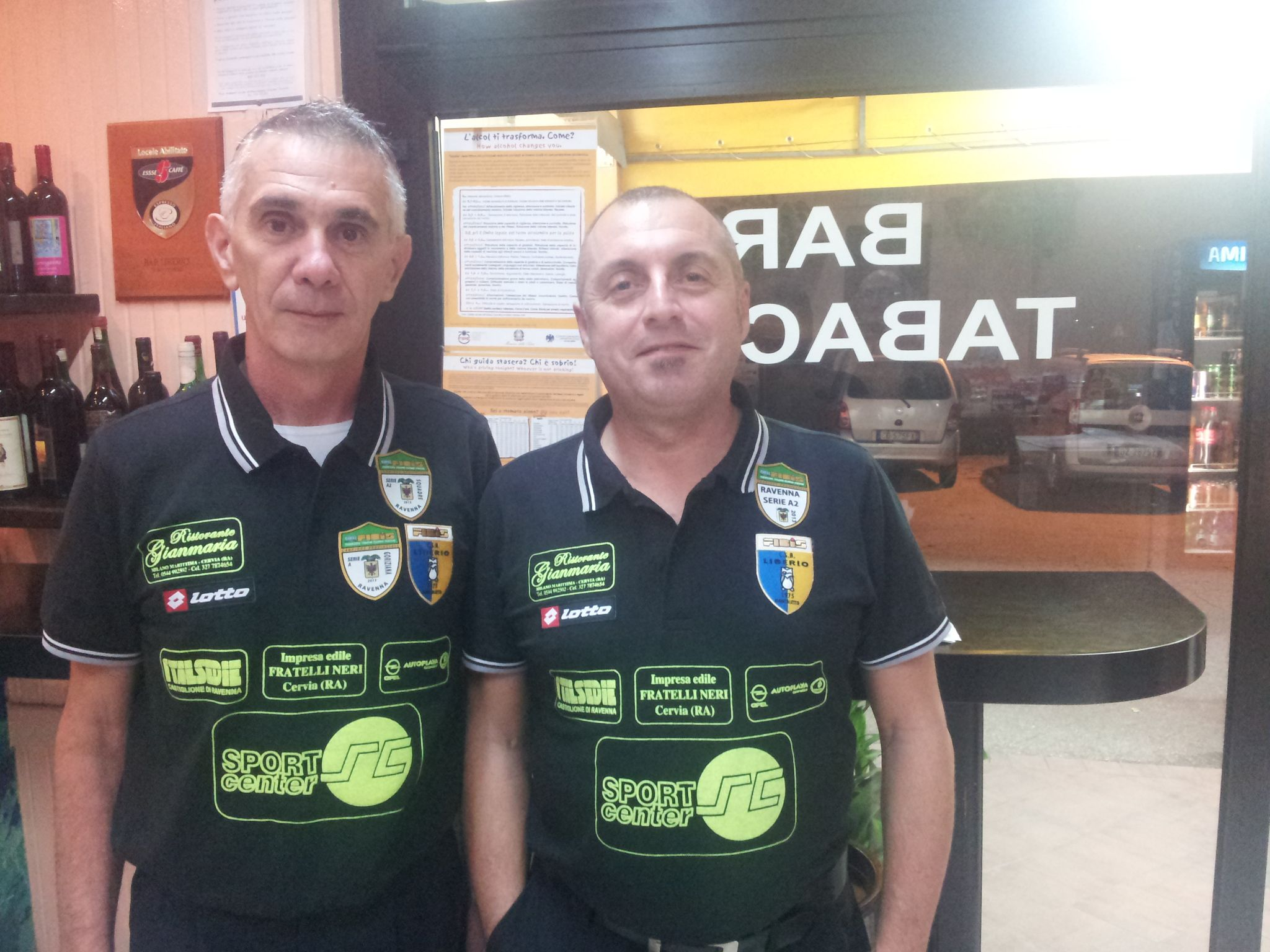 Diader Sorci e Michele Marchetti (Liberio 2 Montaletto)