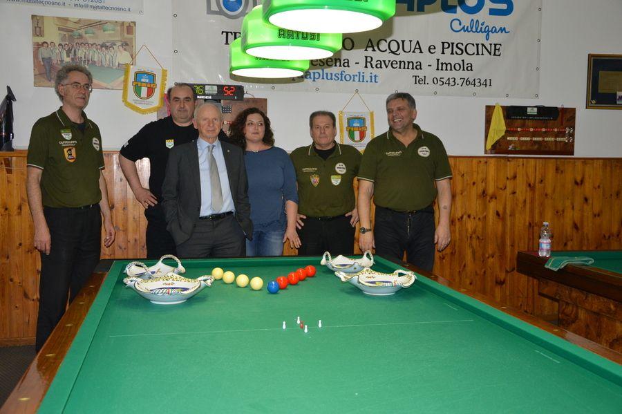 I Finalisti con il Presidente provinciale Naldi Luciano