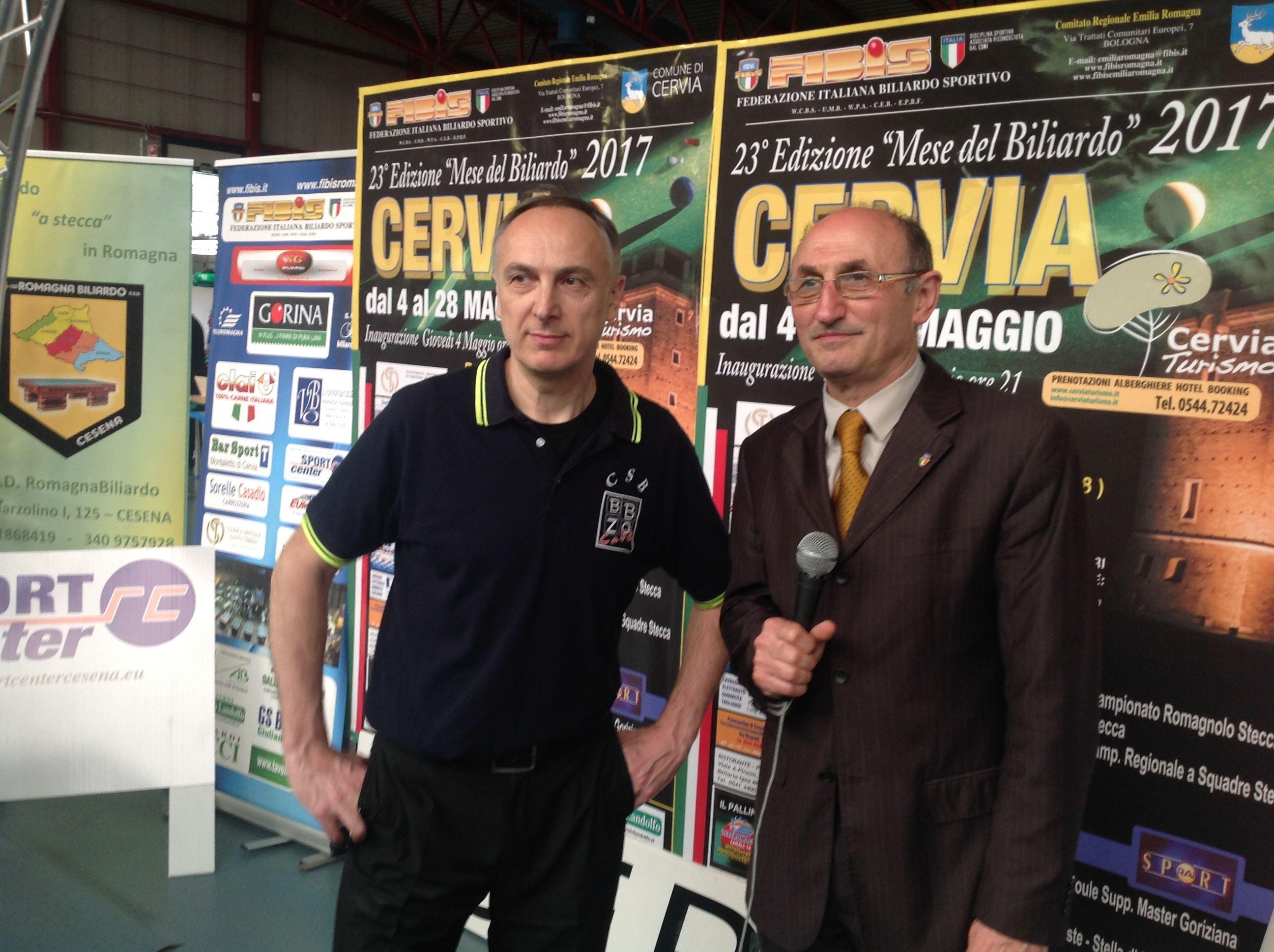 Franchini Gianluca con il Consigliere Federale Loris De Cesari