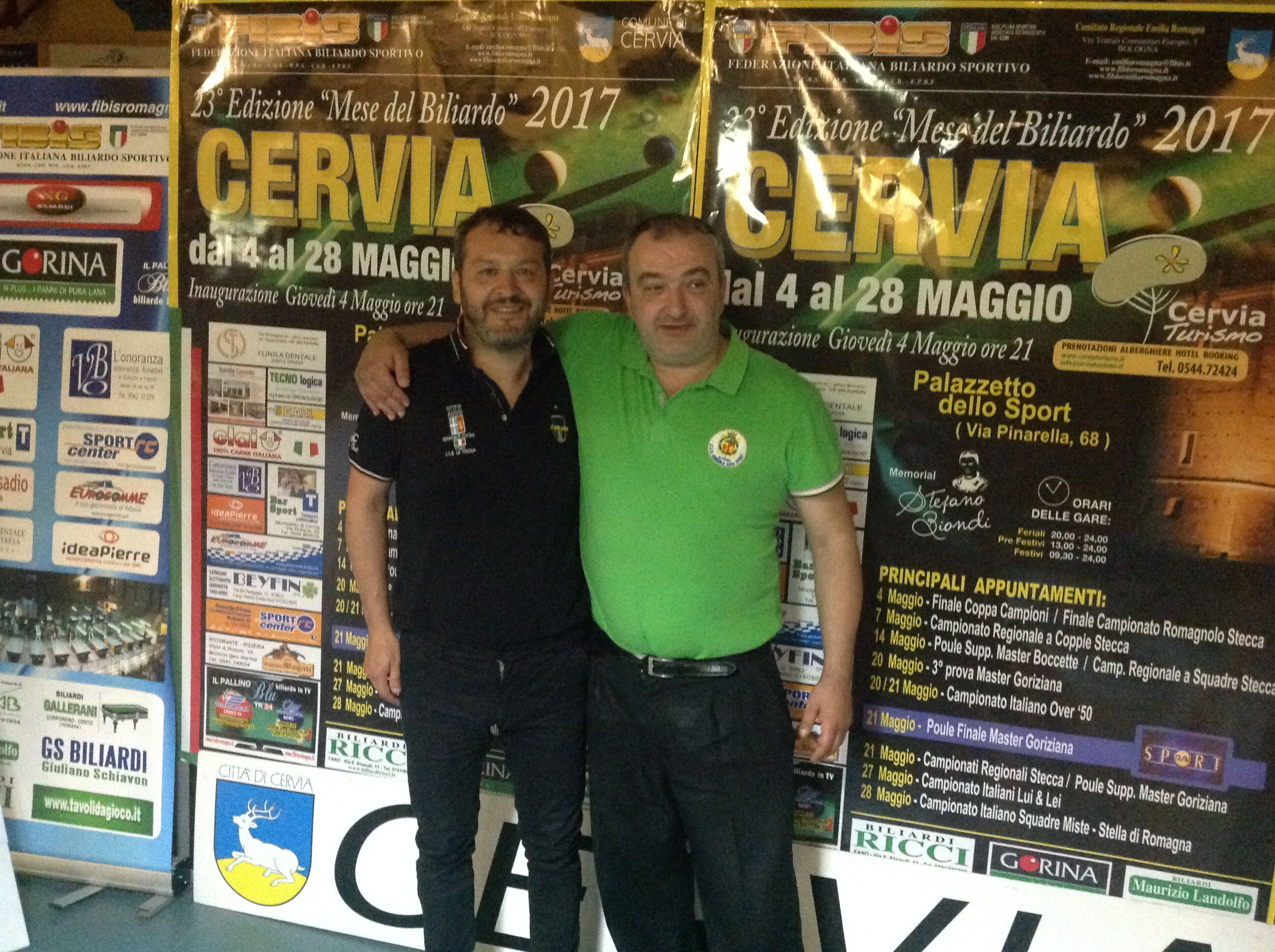 Nadery Alessandro e Cicali Massimo