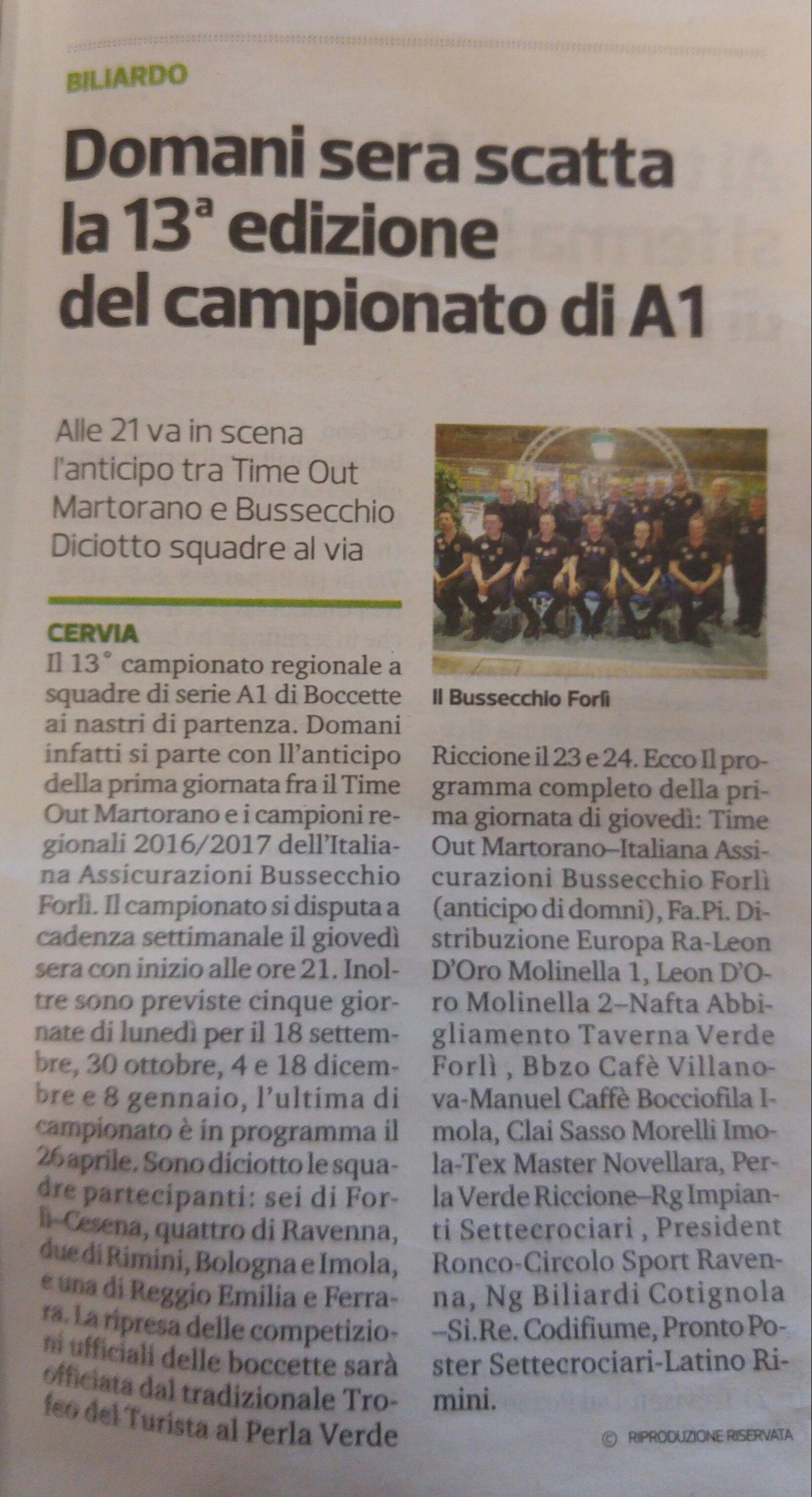Corriere Romagna 10 09 2017