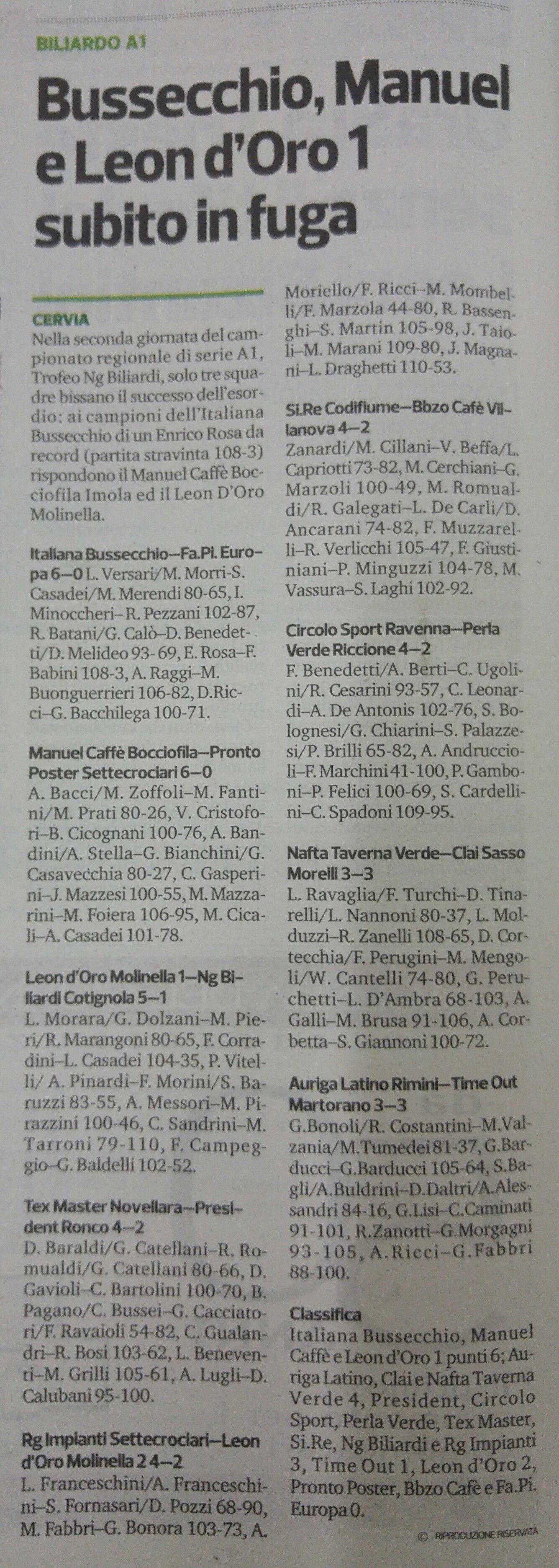 corriere 20 settembre 2017