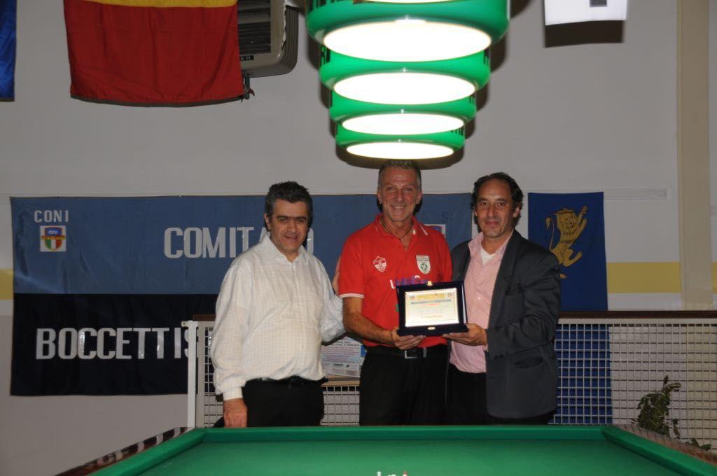 Premiazione Mario Pasinelli