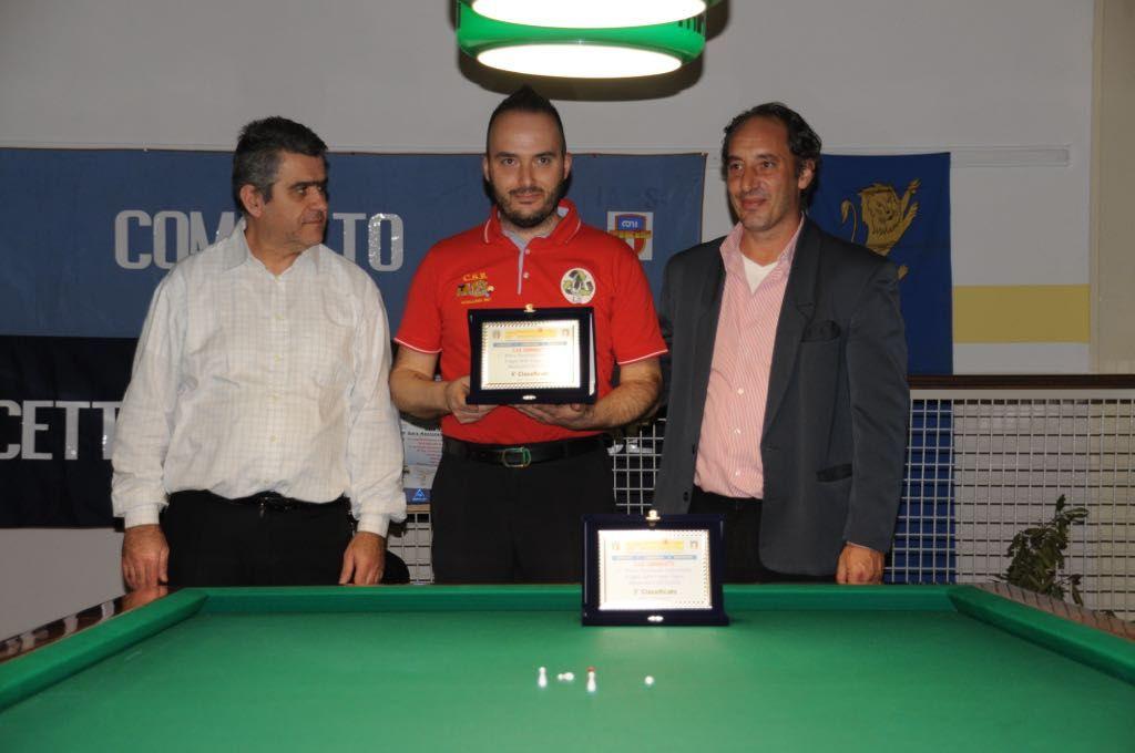 Premiazione Massimo Sala