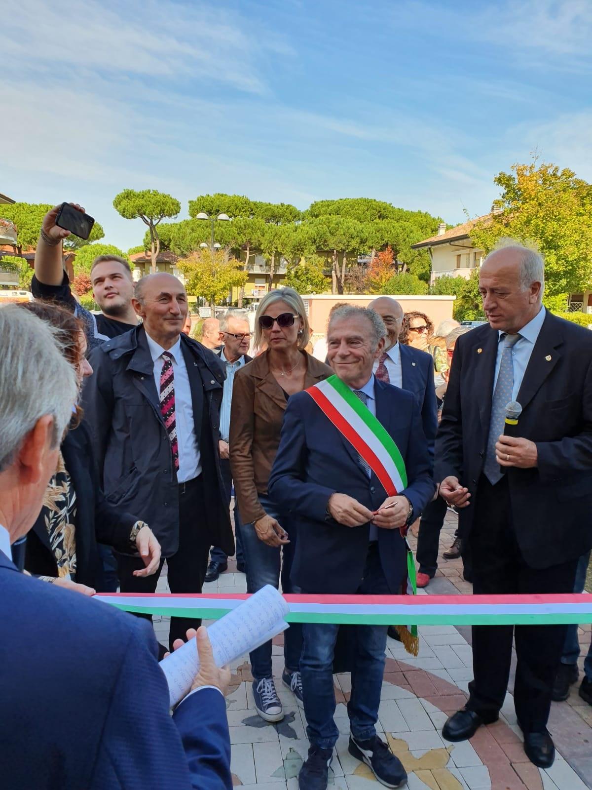 Loris De Cesari Ass. Sport Michela  Brunelli, Massimo Medri Sindaco di Cervia